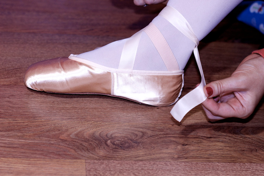 How to Tie Your Pointe Shoes