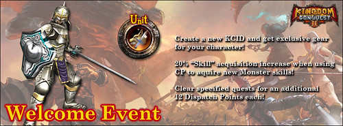 Kingdom Conquest 2 - Welcome Event
