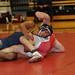 Wrestling Action vs Wesleyan 1/19/13