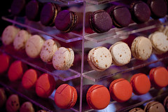 chocolate truffle(0.0), organ(0.0), baking(1.0), confectionery(1.0), sweetness(1.0), bonbon(1.0), food(1.0), macaroon(1.0), chocolate(1.0),