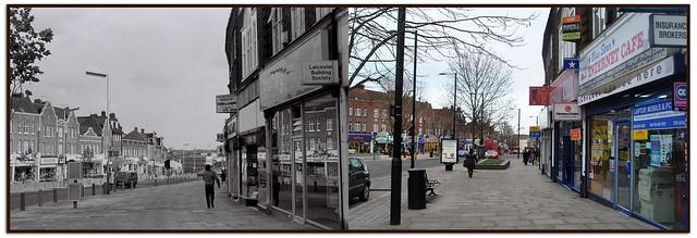 GREENFORD BROADWAY IN 1983 & 2013