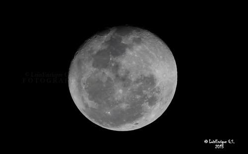Luna de 10 - 28 de Enero del 2013 - Puebla - México