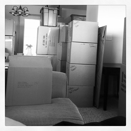 Moving day 1 of  3.