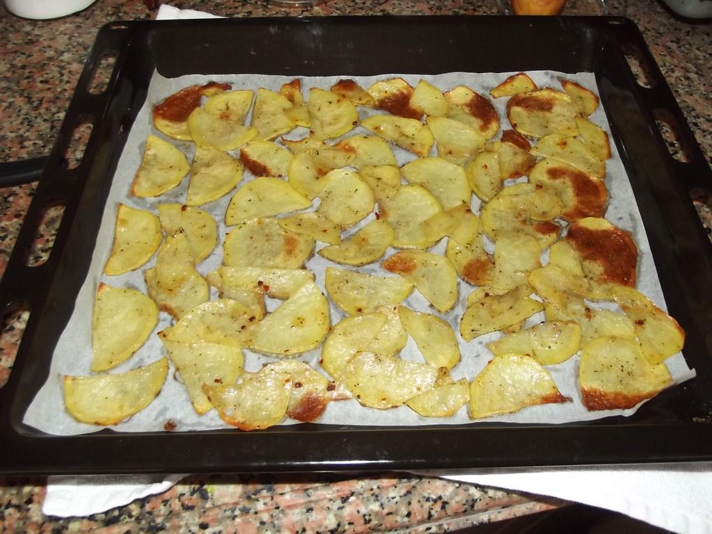 Evde Patates Cipsi