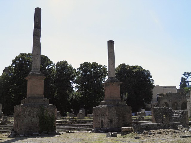 Restored Honorary Columns, Roman Forum, Rome