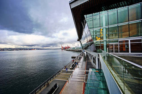Vancouver Convention Centre in Winter