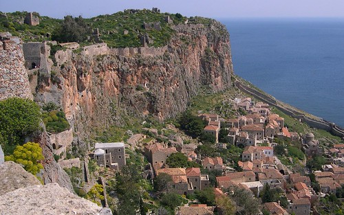Monemvasia-lower town