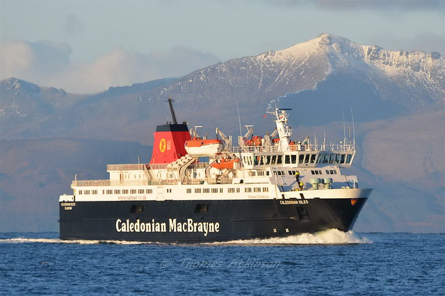 MV CALEDONIAN ISLES,Heading For Ardrossan This Morning