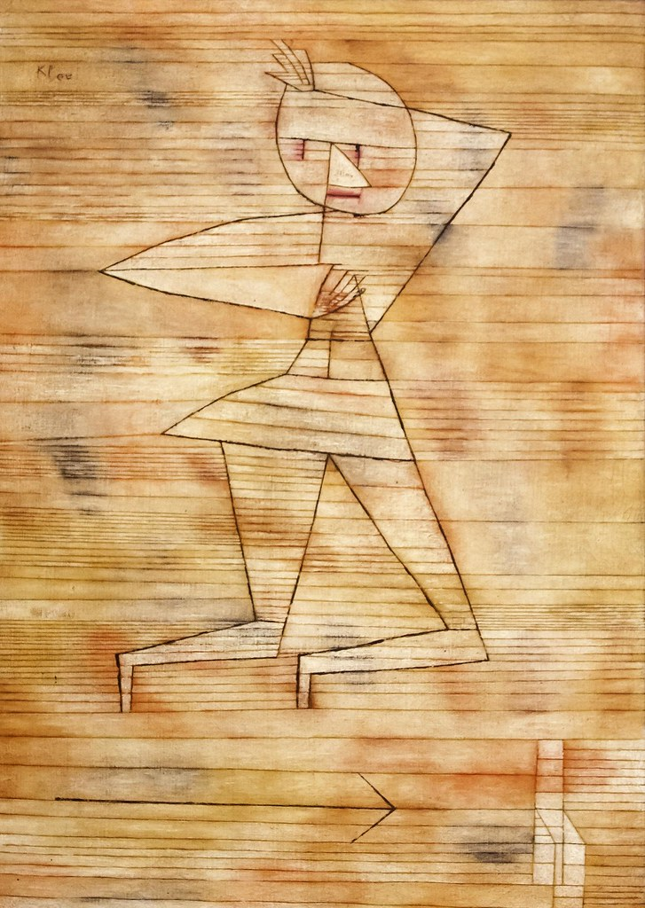 Paul Klee: Fleeing Ghost