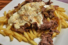 Mmm... cheesesteak fries