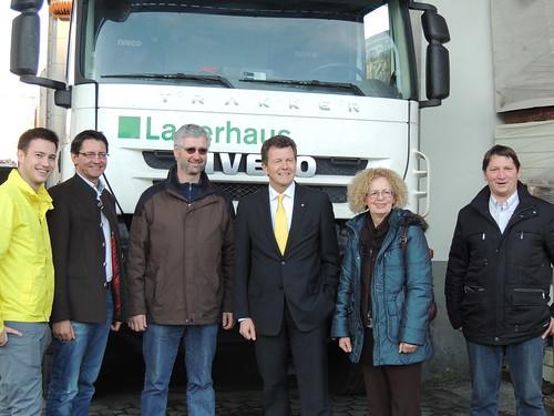 Bezirkstour mit LR Dr. Waldner in Feldkirchen (31.01.2013)