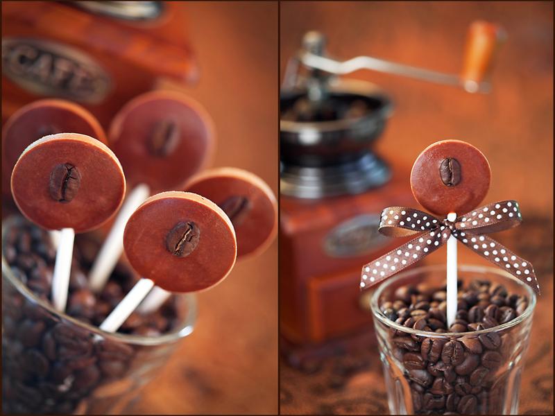 Шоколадно-кофейные конфеты