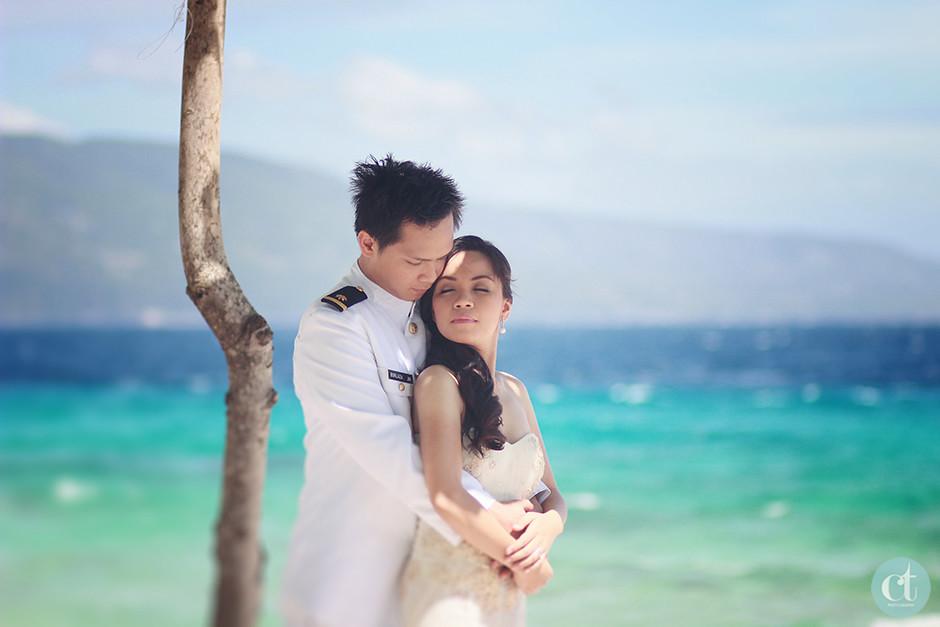 Cebu Wedding Photographer, Sumilon Island Postnup pictorial
