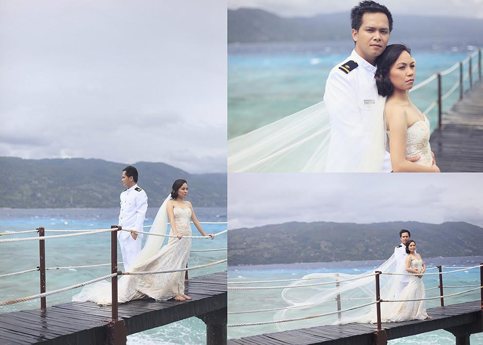 Cebu Wedding Photographer, Bluewater Sumilon Island Post Wedding