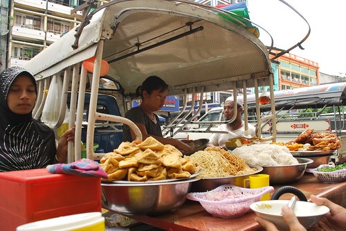 Myanmar Series- food sellers in Yangon