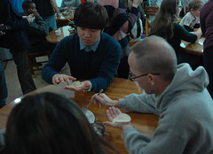 Dumpling Making - U.S. Army Garrison Humphreys, South Korea - 2 February 2013
