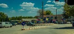 Riscani. Рыночная площадь