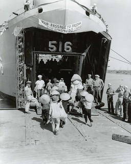 HAI PHONG - LST 516 - Operation Passage to Freedom, October 1954