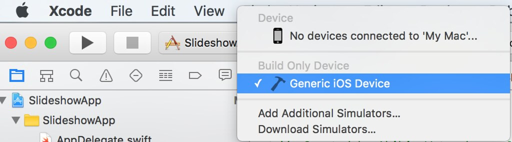Generic iOS Device