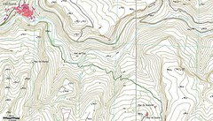 Mapa Vallibona