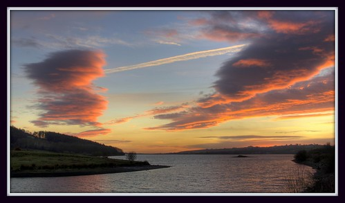 sunset england sky water landscape derbyshire carsingtonwater northislands explored jimbell stunningskies pentaxk5