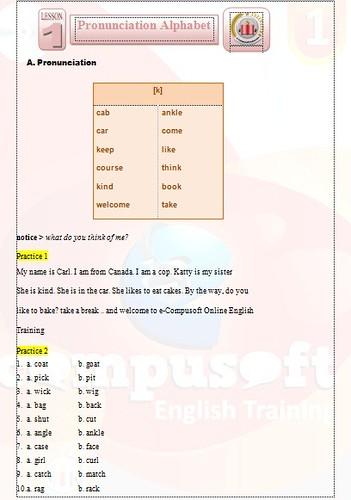 Belajar Bahasa Inggris 1