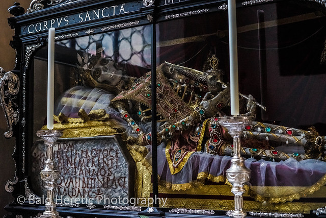 Jewel Encrusted Skeleton Of St. Munditia