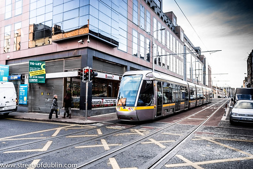 Luas Tram On Abbey Street - Dublin (Ireland) by infomatique