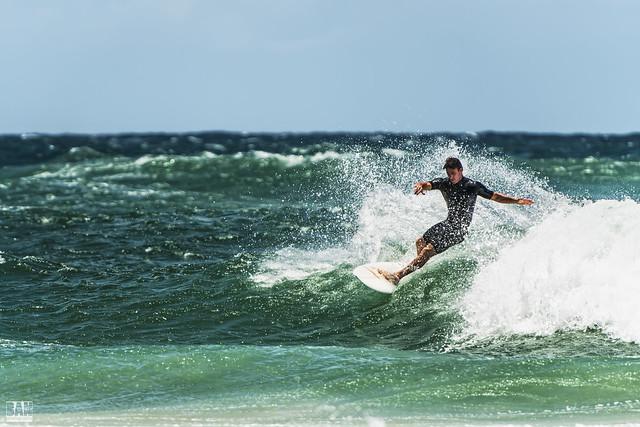 Surfing Burleigh #3