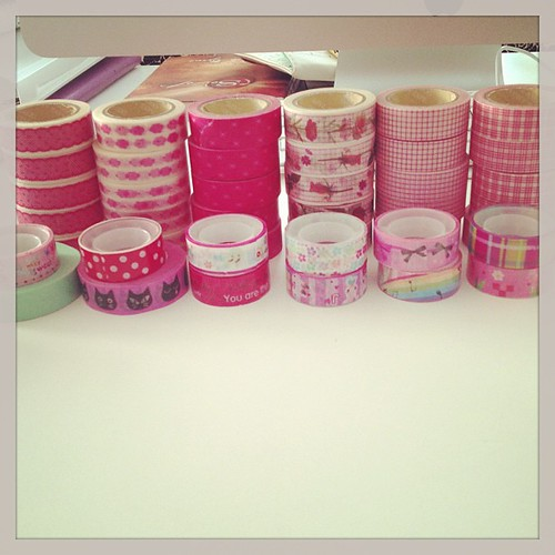 Entire collection #washitape #maskingtape #snailmail