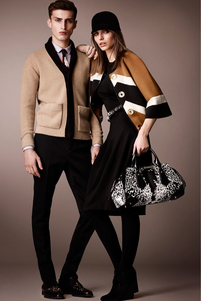Charlie France0282_Burberry Prorsum's Pre-Fall 2013 Collection(Homme Model)