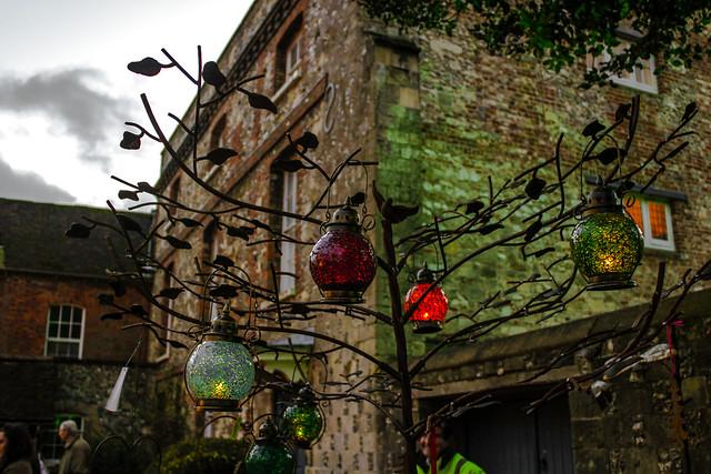 Mercado de Navidad de Winchester