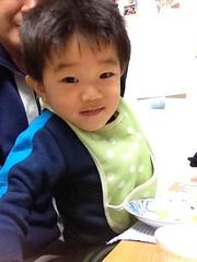 朝御飯とらちゃん 2012/12/13