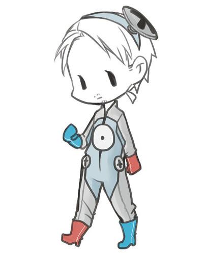 小磁怪連身衣(14/12/2012)