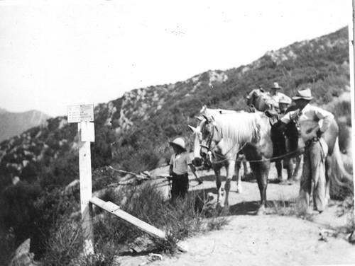 Franklin Trail at Ocean View, 1934