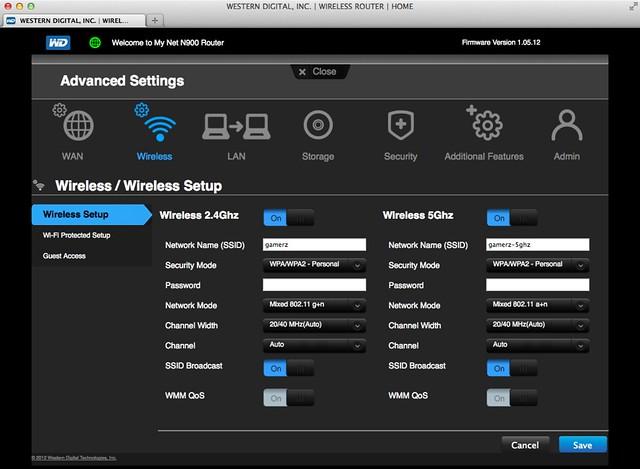 WD My Net N900 Router - Wireless