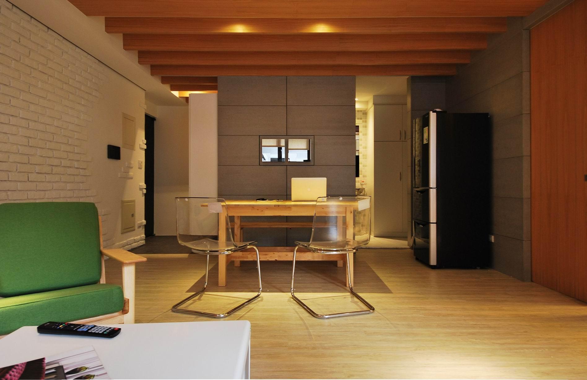 住宅設計-美式LOFT風餐廳