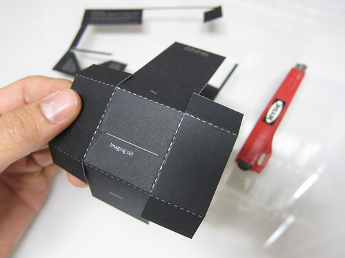 Desktop Spectrometer Kit assembly