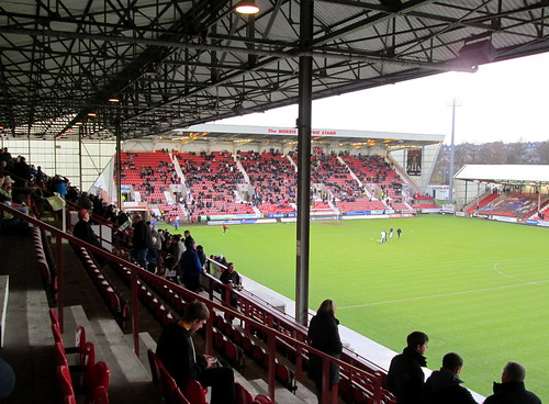 West (Norrie McCathie) Stand, East End Park, Dunfermline