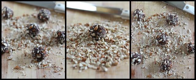 Healthy Chocolate Almond Truffles