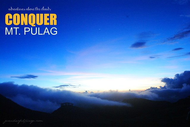 CONQUER MOUNT PULAG