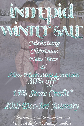 Intrepid:: Winter Sale