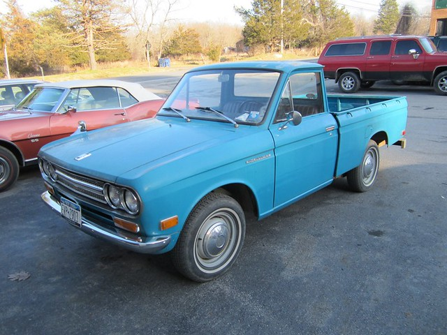 1971 Datsun Pickup Pine Plains Ny Flickr Photo Sharing