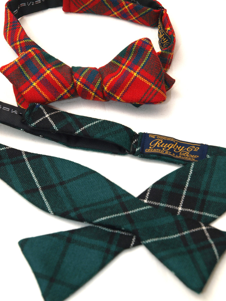 Rugby / Wool Plaid Bow Tie