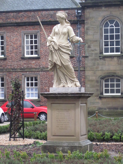 Statue of Justice, Sir William Turners Hospital