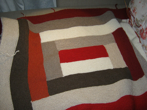Blanket Afghan by DROPS Design 124-19