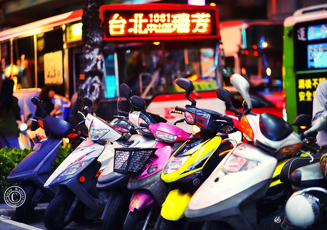 Taipei Streets 台北市 3. © Glenn E Waters.  Explored. Over 3,000 visits to this photo.