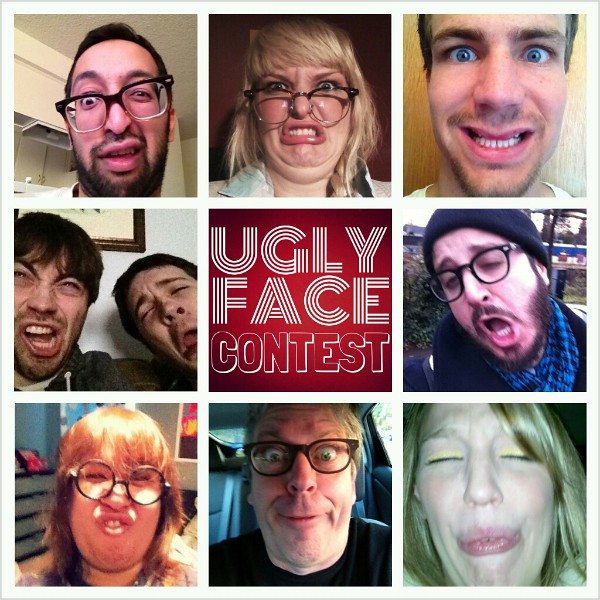 UGLY FACE CONTEST PART 1