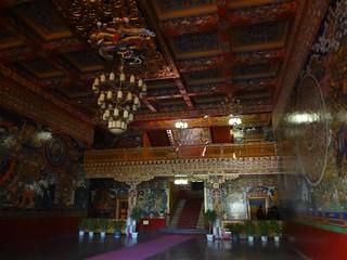Palácio Dechen em Shigatse Tibete