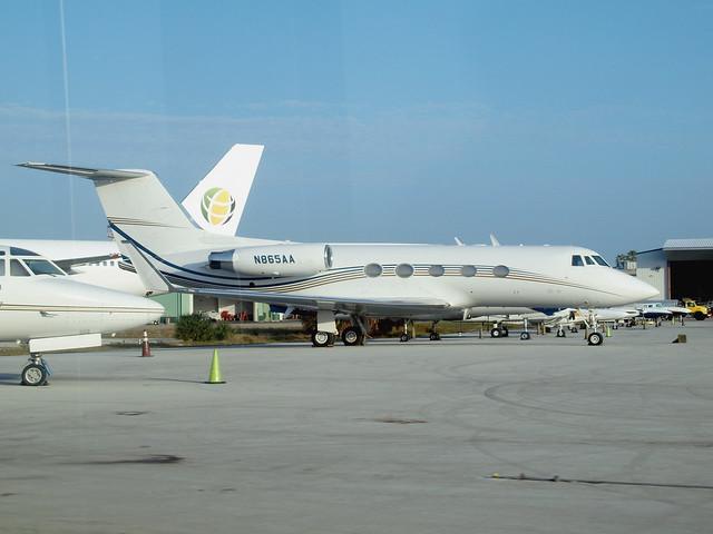 Mapol Aircorp Inc. - Grumman G-1159B Gulfstream II-B - N865AA @ KFLL